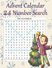 Advent Calendar 24 Number Search: 24 Puzzles To Clean Out The Cobwebs On The Run Up To Christmas