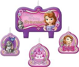 Amscan Disney Sofia The First Birthday Candle Set (1)
