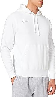 Nike Sweat à Capuche de Football en Molleton pour Homme, Taille S, Blanc/Blanc/Loup Gris CW6894-101
