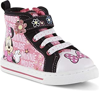 Toddler Girls' Minnie Mouse High-Top Sneaker