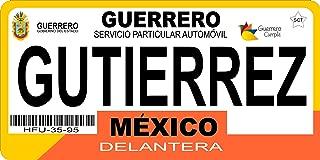 guerrero license plate