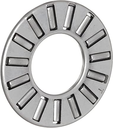 3.8lbf Static Load Capacity 1.43lbf Dynamic Load Capacity Steel Cage 8mm ID 21mm OD 2mm Width Koyo FNT-821 Thrust Needle Bearing and Roller Open Metric