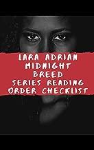 Lara Adrian Midnight Breed Series Reading Order Checklist