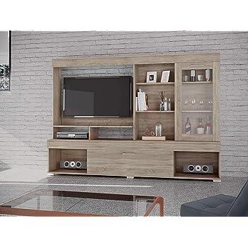 Arredodacasa Com Parete Attrezzata Soggiorno Modello Pai6021 Mobile Porta Tv Moderno Mobile Soggiorno Tv Con Mensole E Vani Salotto Base Televisione Sala Da Pranzo Casa E Cucina Soggiorno