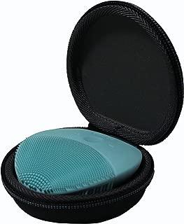 TUDIA Luna 迷你 2 面部刷 EVA 便携包,防水材料减震存储硬便携旅行箱与 FOREO Luna Mini 2 洁面刷