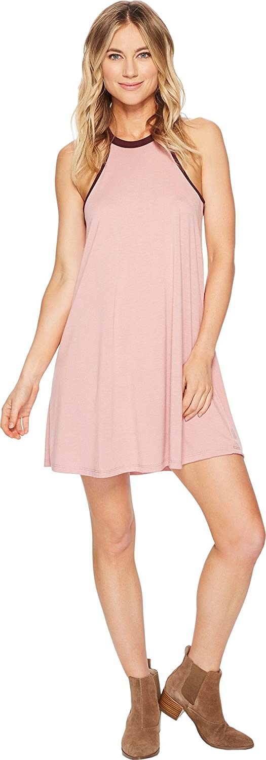 American pink Womens Ellie High Neck Dress