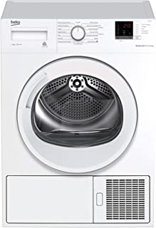Beko DRX837WI Sèche-linge 8 kg à condensation avec pompe à chaleur Classe A+++