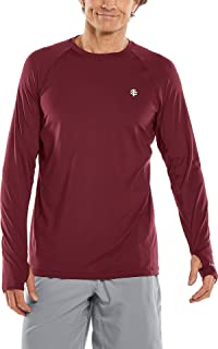 Coolibar UPF 50+ Men's Agility Long Sleeve Performance T-Shirt - Sun Protective