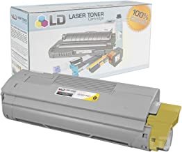 LD Compatible Toner Cartridge Replacement for Okidata C610 Series 44315301 (Yellow)