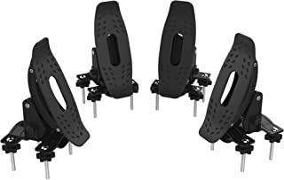 Universal Kayak Carrier Multi-Pivot Water Craft Canoe Boat Surf Ski Roof Rack Cross Bars Saddles Top Mounted on Car