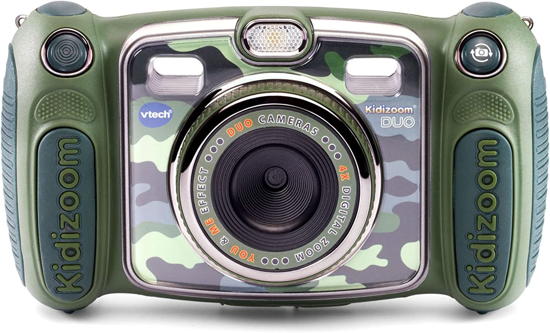VTech Kidizoom Duo Selfie Camera, Amazon Exclusive, Camouflage