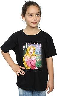 Disney Girls Sleeping Beauty Aurora Montage T-Shirt