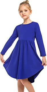 Balasha Girls Ruffled Short Sleeve Casual Dress