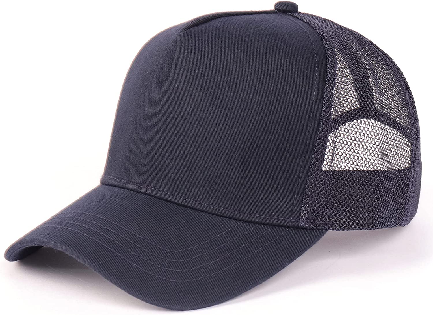 Oversize XXL Mesh Trucker Hat Max 54% OFF Baseball Breathable Selling High Crown Cap
