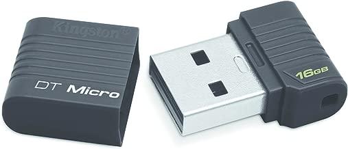 Kingston Digital 16GB DataTraveler Micro USB 2.0 (DTMCK/16 GB)