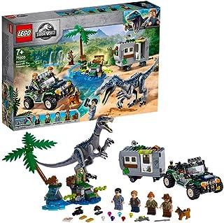 Lego, 75935 Jurassic World Baronyx Face-Off: Äventyrsjakt Lekset med Dinosaurie, Terräng Rover och Figurer