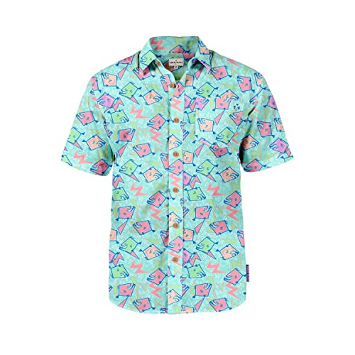 8668e448226 Men s Tropical Aloha Hawaiian Shirts - Summer Light Weight Button Down  Shirts