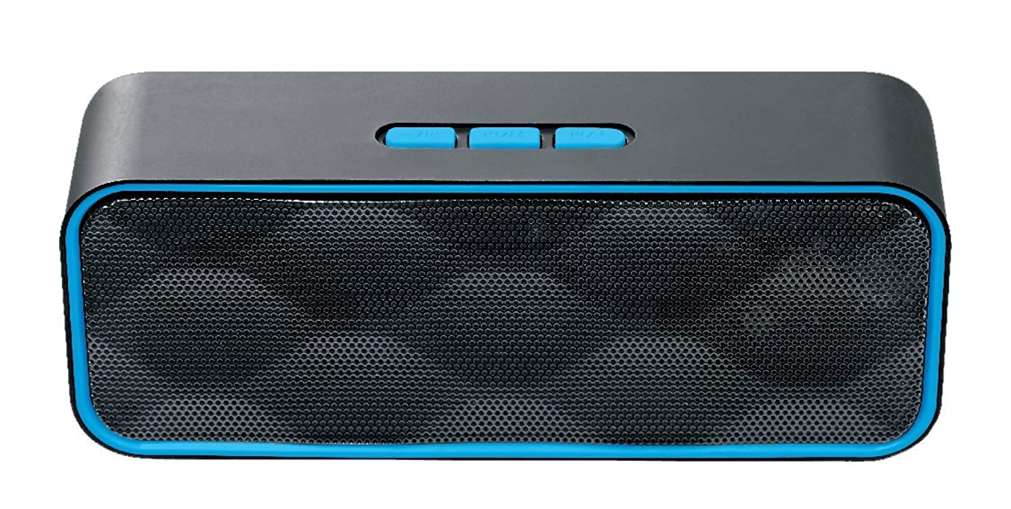 Portable Bluetooth Speaker – Pure Sound – Heavy Bass – Compatible with Smart Phones and Tablets, Wireless BT Speaker Samvix Boxbass X24 (Black M)