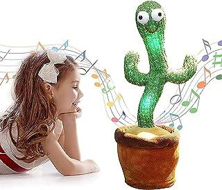 Juguete De Peluche De Cactus bailando y cantando,Incluye 120 música (inglés), Grabación ySeguirte hablar, resplandor, jugu...