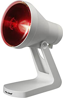 Efbe Schott Lámpara de infrarrojos con interruptor, Bombilla Philips incluida (150 W), Blanco, SC IR 812 ZS