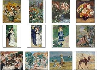 Wish Pub - Set of 12 Unframed Fine Art Prints, Pierre-Auguste Renoir, 12x16 inch