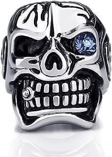 blue steel biker jewelry
