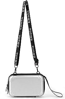 Eleccio Bella Bolso con Forma de Maleta Mini Bandolera ABS Mujer 1.4 Litros