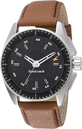 Fastrack Black Magic Analog Black Dial Men's Watch NM3089SL05 / NL3089SL05