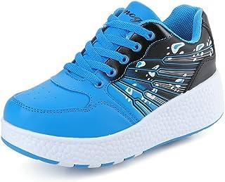 2b71d133d7d K-SEVEN Kids Wheels Sneaker Roller Skate Shoes for Girls Boys Children