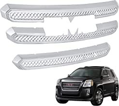 Mophorn Front Grille for GMC Terrain 2016-2017 GR0984 Exterior Tape-On Grille Inserts