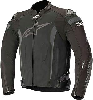 Alpinestars Men's T-Missile Air Motorcycle Jacket Tech-Air Compatible, Black/Black, Large