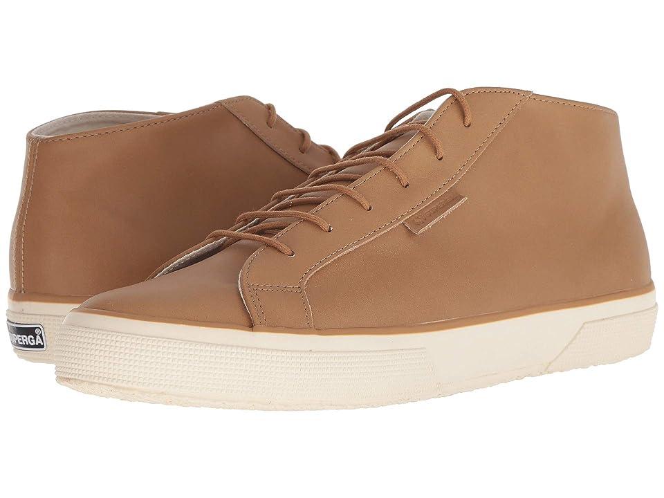 Superga 2754 Fgldyedm (Tan Leather) Men