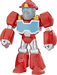 Playskool Heroes Transformers Rescue Bots Academy Mega Mighties Heatwave the Fire-Bot 10-Inch Robot Action Figure, Collect...