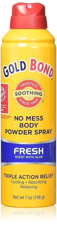 デッキピース狂乱海外直送品Gold Bond Gold Bond No Mess Powder Spray, Fresh Scent With Aloe 7 oz (Pack of 2)