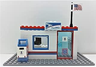 Building Bricks Toys Custom City USPS Postal Service Post Office. Ready to Play!