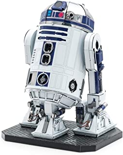 fascinations Metal Earth ICONX Star Wars R2-D2 Color 3D Metal Model Kit