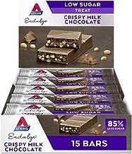 Atkins Chocolate Bar Keto Snacks Low Carb Low Sugar Chocolate Crispy Snack Bar Multipack of 15 Estimated Price : £ 14,24