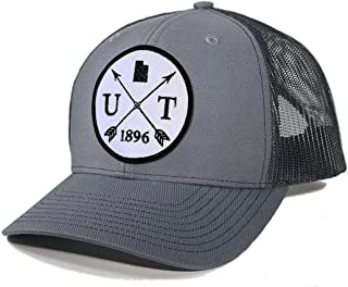 Men's Utah Arrow Patch Trucker Hat