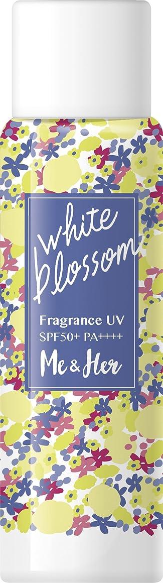 滴下希少性ライフルMe & Her(ミーアンドハー) フレグランスUV ホワイトブロッサム 60g