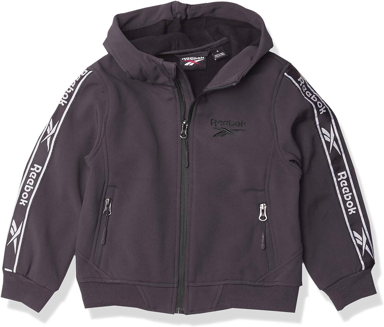 Reebok Popular products Boys' Soft Woven W. Knit Jacket Rib Max 90% OFF