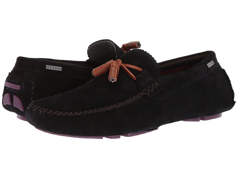 Ted Baker Urbonns (Dark Blue Suede) Men