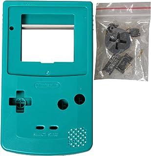 eJiasu Full Replace Parts Housing Shell Pack for Nintendo GBC Gameboy Color (Cyan Case 10PCS)
