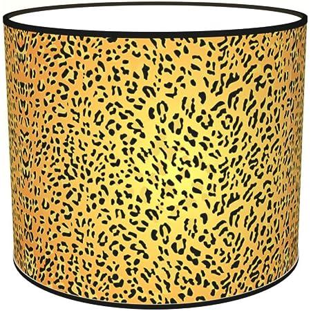 Abat-jours 7111305578309 Imprimé Pinto Lampe de Chevet, Tissus/PVC, Multicolore