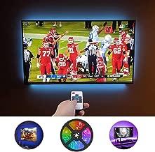 LED Light Strip,Gskeys TV Backlight Led Strip Lights with Remote for 40