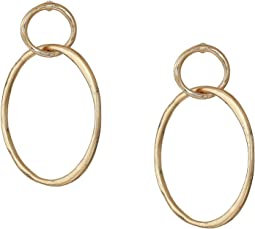 Orbit Frontal Hoop Earrings