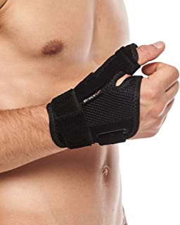 BraceUP Thumb Spica Support Brace with Splints for Arthritis