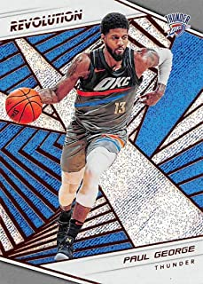 2018-19 Revolution Basketball #73 Paul George Oklahoma City Thunder Official NBA Trading Card By Panini