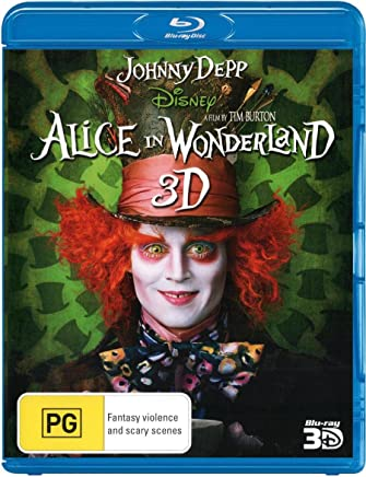 Alice In Wonderland (Live Action) (3D Blu-ray)
