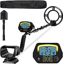 sakobs Metal Detector, Higher Accuracy Adjustable Waterproof Metal Detectors with LCD..