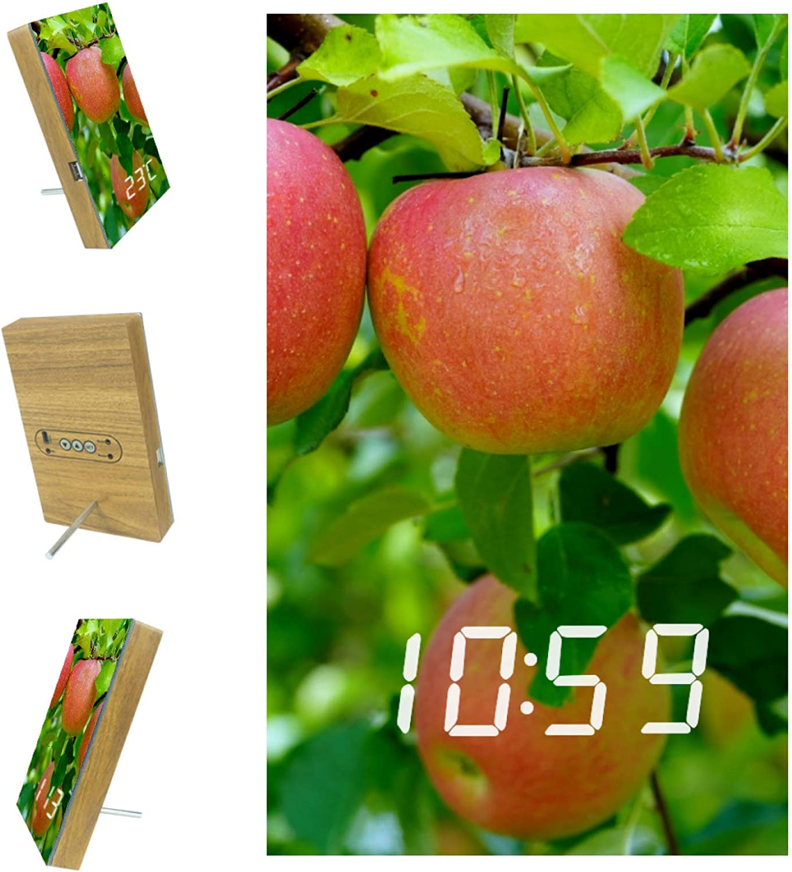 DEYYA Digital Recommendation LED Clock Snooze Battery Operat Modern Alarm Super sale period limited
